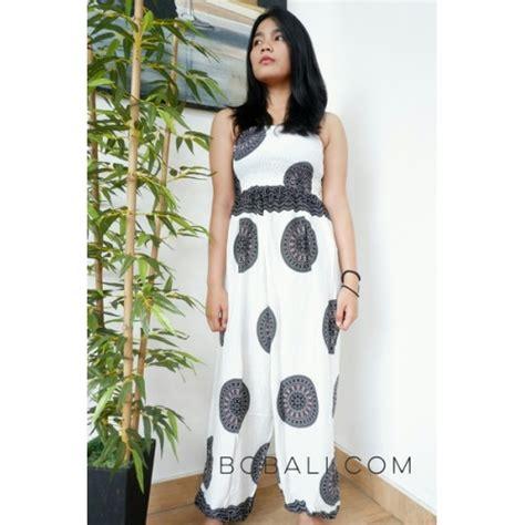 Jumpsuit Bali bali jumpsuit clothes fashion design pattern white