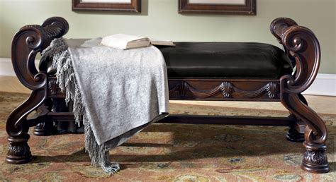 ashley furniture north shore bench north shore upholstered bench from millennium by ashley furniture tenpenny furniture