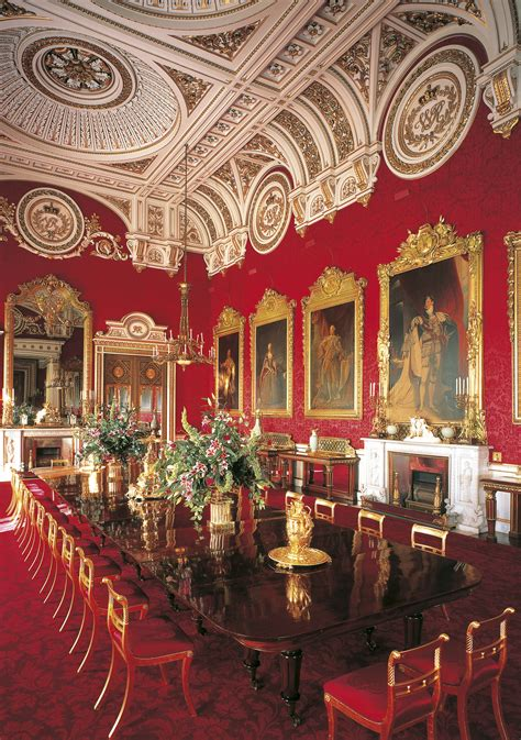 royal dining room royal interior of the state dining room at buckingham