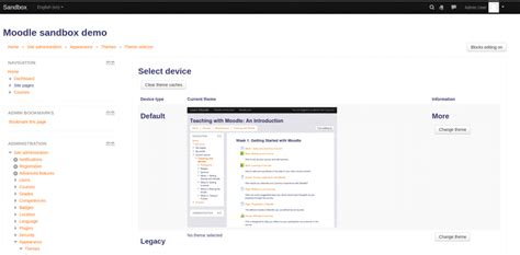 moodle theme modification how to change the default theme in moodle interserver tips