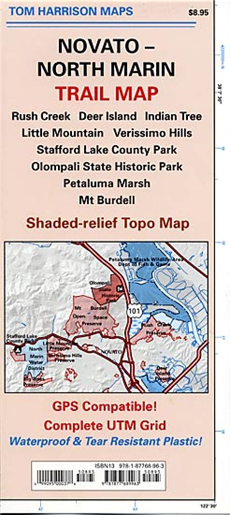 novato north marin trail map