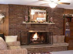 fireplace wall design ideas cheap ways to make a look of new brick fireplace room