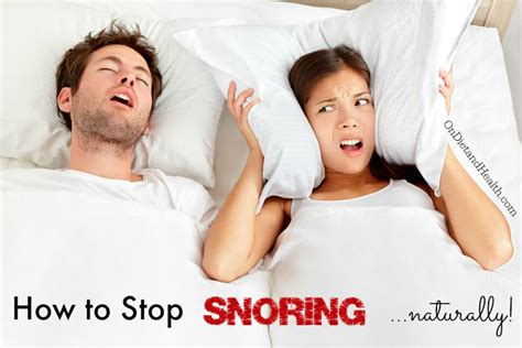how to stop my from naturally how to stop snoring naturally