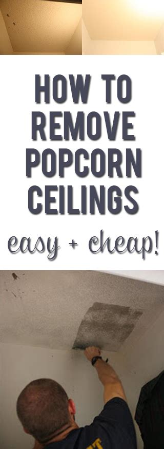 How To Remove Popcorn From Ceiling by How To Remove Popcorn Ceilings Easy Cheap Tricks With Photos