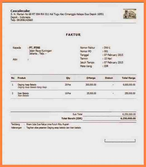 download format invoice konsultan rabitah net