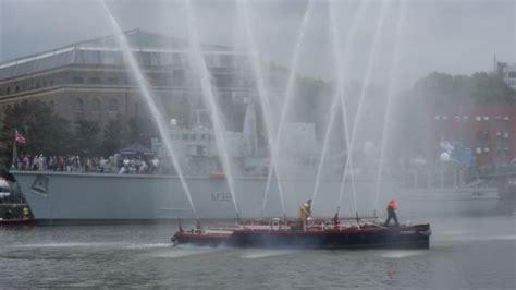 fireboat pyronaut fire engines photos bristol fireboat