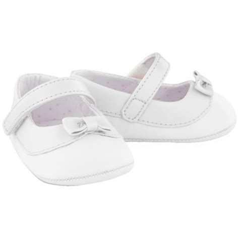 baby white shoes with bows cachet