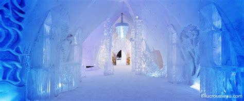 hotel de glace canada hotel de glace
