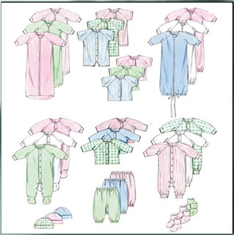 Hand sewn baby clothes patterns sewing patterns for baby