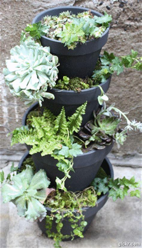Terracotta Pot Vertical Garden How To Make A Terra Cotta Vertical Garden Hgtv Design