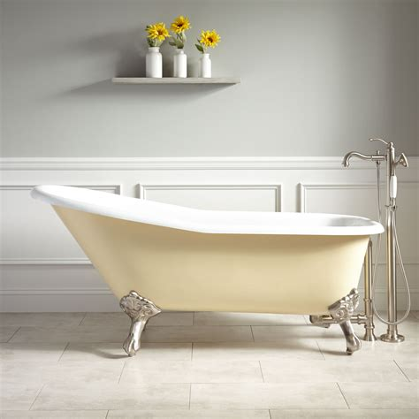 yellow bathtub what is a slipper bathtub