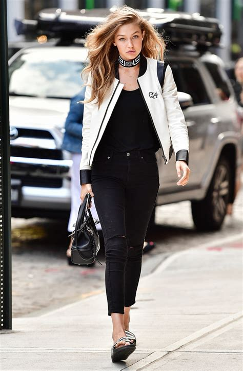 what does style gigi hadid s personalized quot hadidas quot jacket instyle