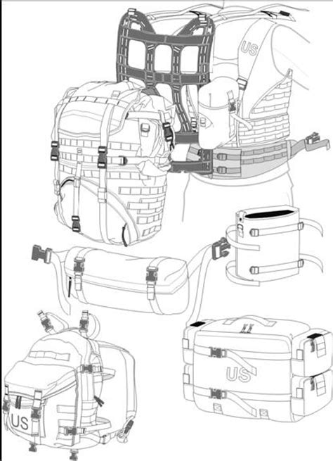 molle system the molle system consists of the following majorcomponents