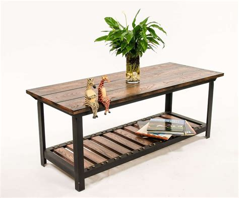 industrial style coffee table 20 inspirations of industrial style coffee tables
