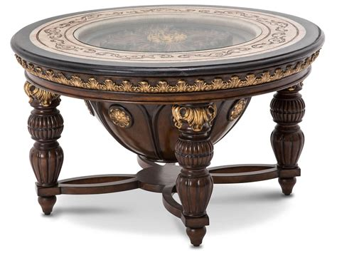 aico versailles cocktail table