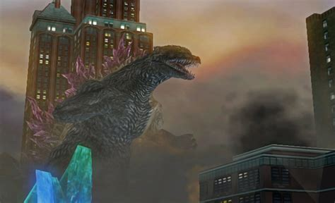 godzilla unleashed screenshots  wii playstation  psp