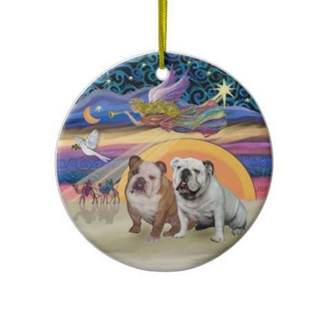 1000 images about english bulldog christmas ornaments on