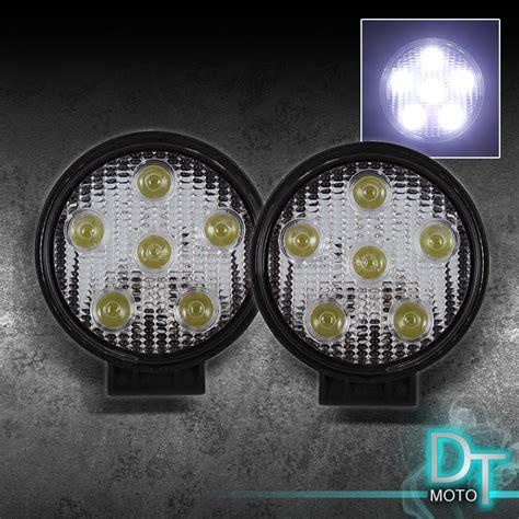 fog light kits for trucks 6 led white 4x4 fog lights kit switch aluminum