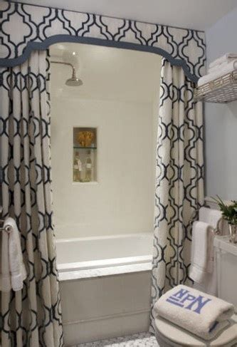 Bathroom Curtains With Pelmet Pelmet Box The Shower Badkmr Pelmet