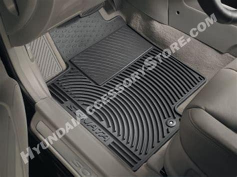 Hyundai Sonata All Weather Floor Mats 2006 10 hyundai sonata all weather mats