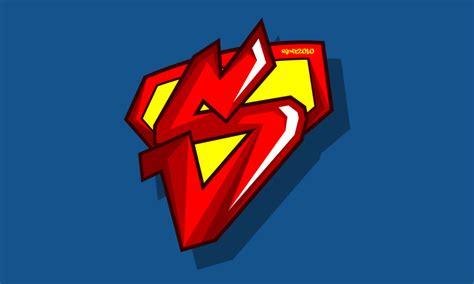 graffiti logo wallpaper superman graffiti logo by elclon on deviantart