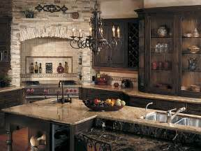 Stone Kitchens Design by Create A Rustic Kitchen Design With The Help Of Stone Veneers