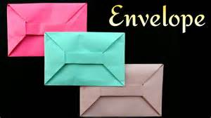 how to fold a4 paper into an envelope envelope from a4 sheet no glue or tape diy origami