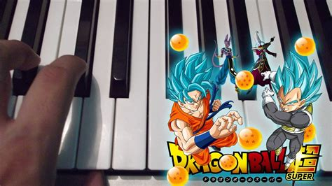 tutorial piano dragon ball z dragon ball super opening piano tutorial cover