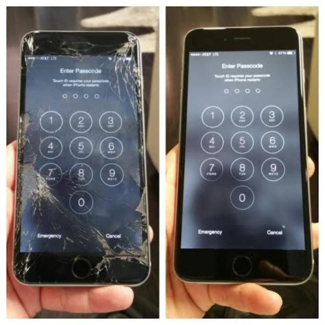 iphone  cracked screen repair replacement san diego