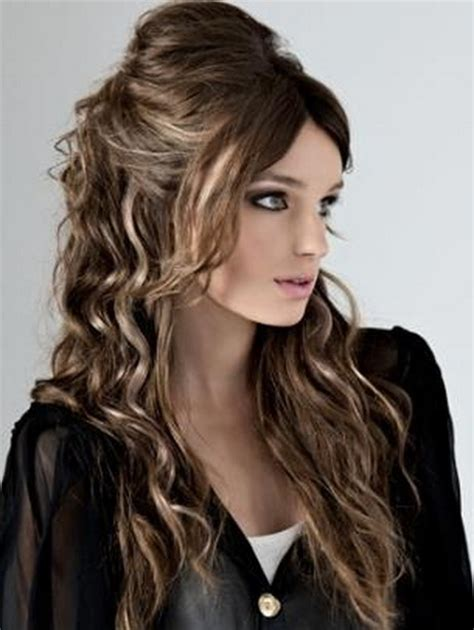 party hairstyles for long hair 2012 cute party hairstyles for long hair