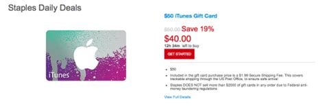Staples Itunes Gift Card - staples 20 off itunes gift cards points miles martinis