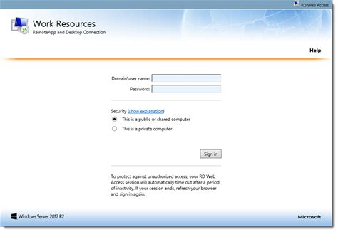 step by step customizing rd web access 2012 r2 part 1