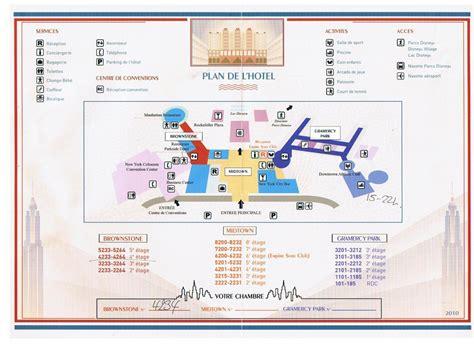 Lodge Floor Plans by Plans Des Hotels Disney 224 Disneyland Paris