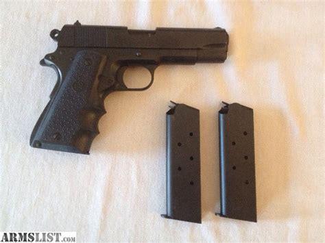 black t finish armslist for sale colt 1911 combat commander 45 acp