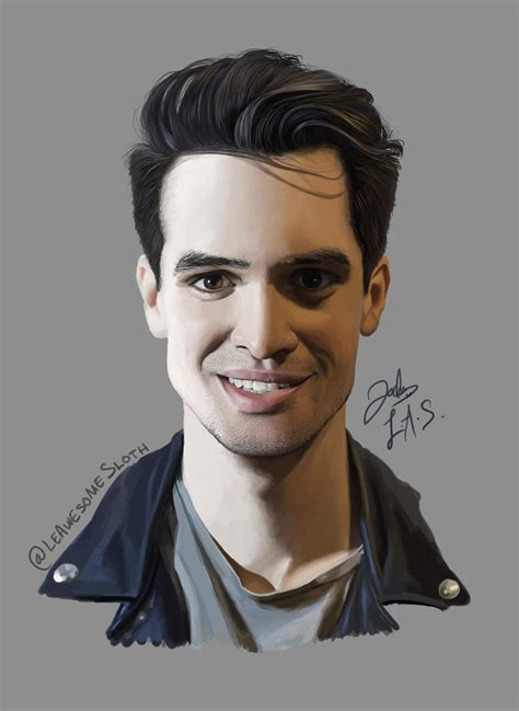 brendon urie brendon urie by leawesomesloth on deviantart