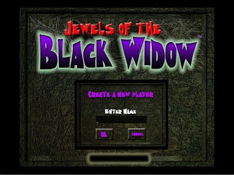 Black Widow The Name Of The jewels of the black widow screenshots for windows mobygames
