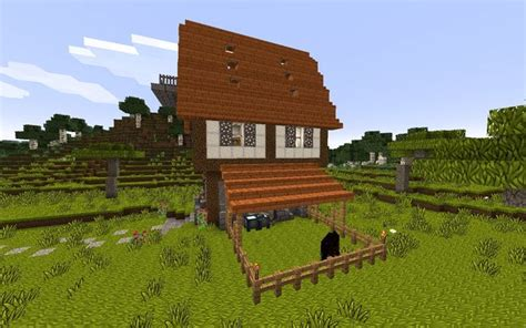 Farmhouse Blueprints how to build a medieval house in minecraft