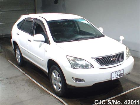 toyota harrier 2008 2008 toyota harrier pearl for sale stock no 42011