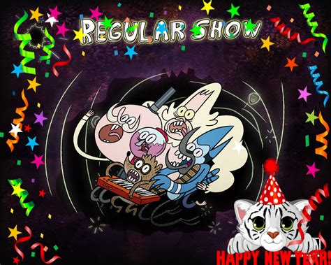 happy new year show happy new year regular show fan 33189841 fanpop
