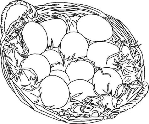 chicken egg coloring page chicken egg netart