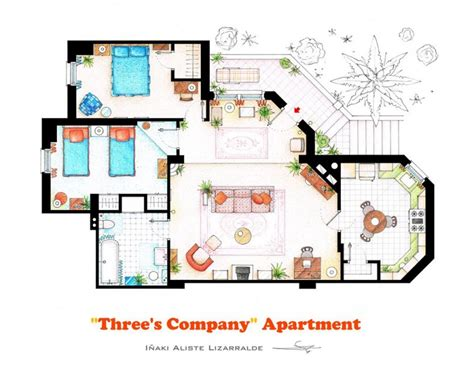sitcom house floor plans tv show floor plans
