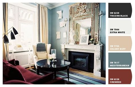 mediterranean blue paint colors from chip it by sherwin williams dining room