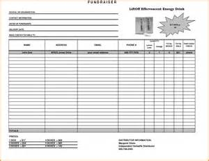 fundraiser order form template doc 564435 fundraising sheet template doc564435