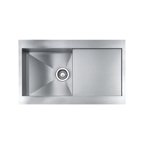 cm revers 86x52 kitchen sink 1 bowl brushed stainless