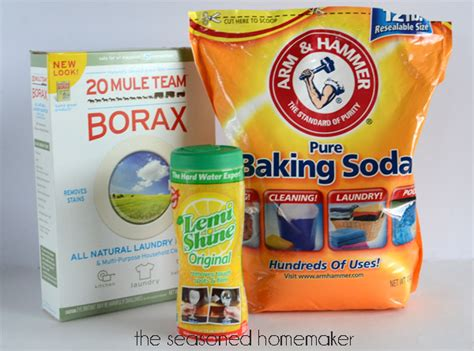 harmful household products homemade dishwashing detergent