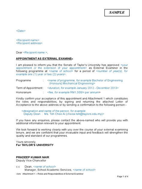 Acceptance Letter For External Examiner Resume Exles For Lpn Graduate Qa Analyst Resume Cover Letter Top 10 Software Engineer Resume