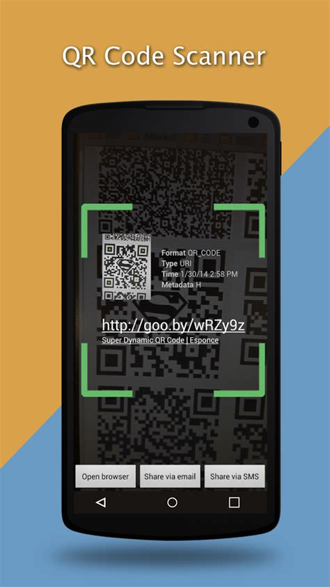 how to scan qr code android qr code scan barcode scanner android apps on play