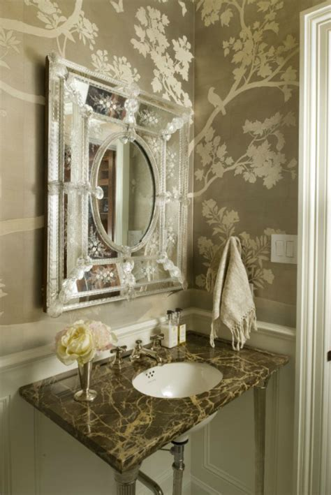 Venetian Mirror Bathroom Venetian Mirror Bathroom Munger Interiors