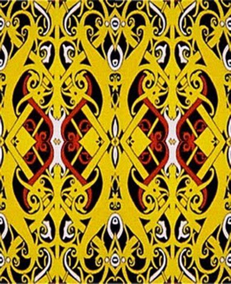 Kain Batik Kaltim 12 bungsu simpank gambar motif dayak