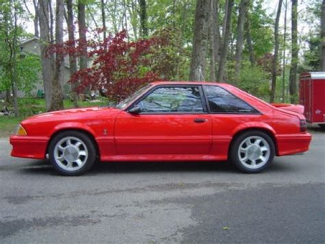 1993 fox mustang for sale 1993 ford mustang cobra bring a trailer